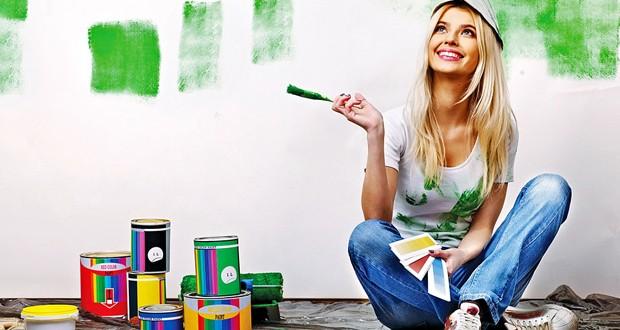 Всё о красках для стен. Виды и их свойства.