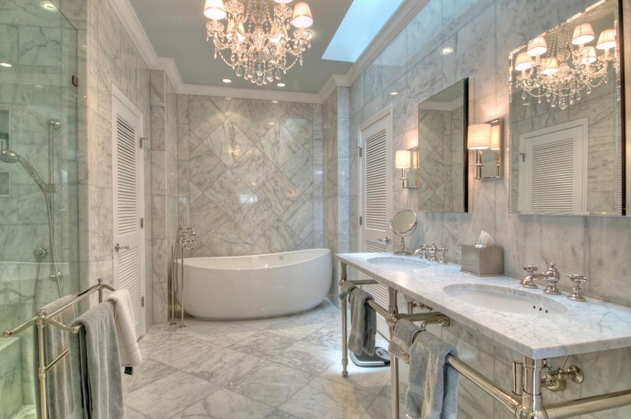 Способы отделки ванной комнаты