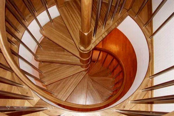 Изготовление винтовой лестницы своими руками