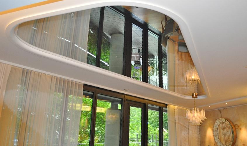 Подвесные потолки, их разновидности и виды