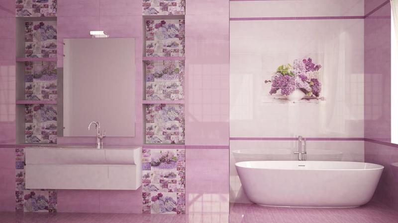 227 Укладка плитки в ванной комнате своми руками