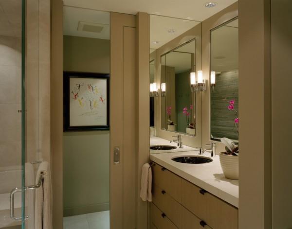 282 Раздвижные двери для ванной и туалета - удобно ли