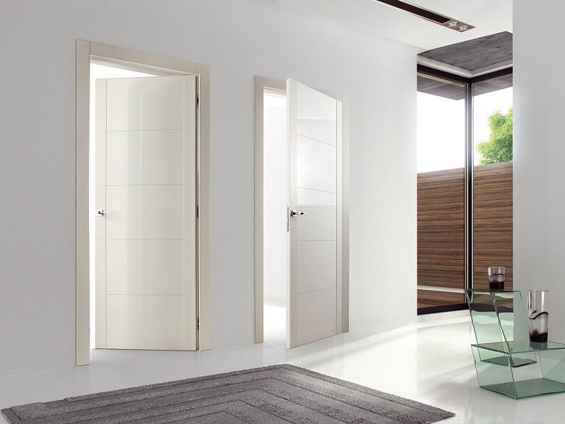Двери для ванной и туалета — установка