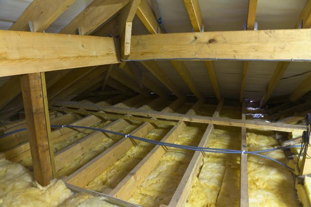 349 Утепление потолка в доме