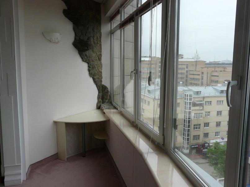 405 Варианты отделки балкона