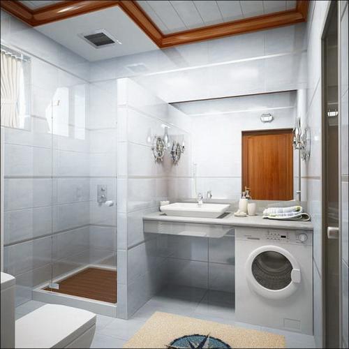 418 Дизайн ванной комнаты в хрущевке