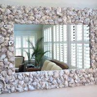 560 Как декорировать зеркало своими руками