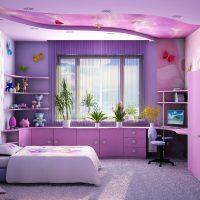 596 Интерьеры детских комнат для девочек