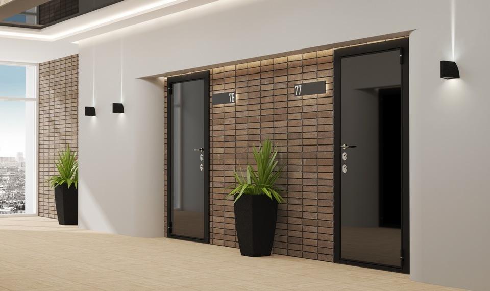 Двери входные металлические с шумоизоляцией