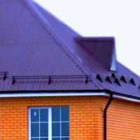669 Снегозадержание на крыше из профнастила