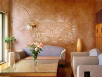 816 Декоративная штукатурка для стен кухни