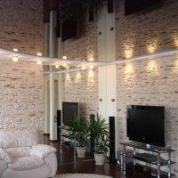 839 Зеркальный подвесной потолок
