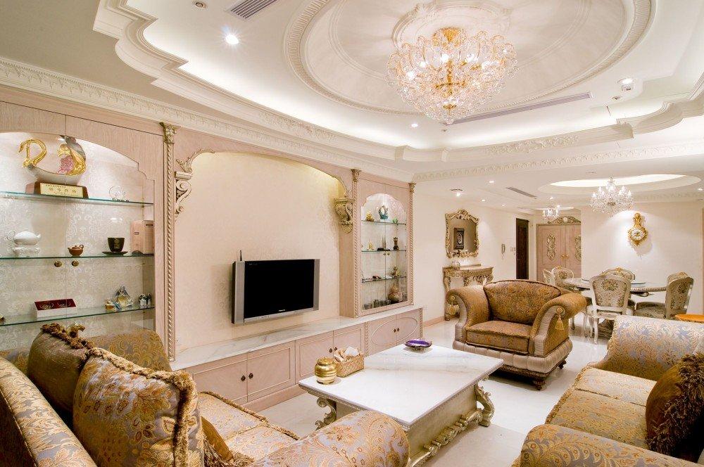 Потолок из гипсокартона в зал: преображаем комнату
