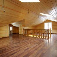 901 Применение панелей из дерева для потолка и стен