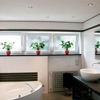 1178 Подвесной потолок в ванной комнате: виды, особенности, советы по установке