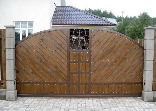 Cдвижные ворота своими руками — пошаговая инструкция
