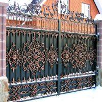 1398 Делаем железные ворота своими руками