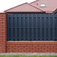 1401 Инструкци. Как построить забор из профлиста