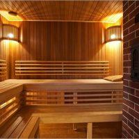 1443 Внутренняя отделка бани своими руками