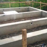 1523 Фундамент для бани из блоков