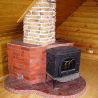 1607 Как обложить металлическую печь кирпичом — пошаговая инструкция