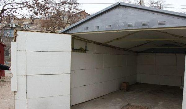 Как утеплить металлический гараж — технология