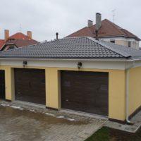 1638 Как перекрыть крышу гаража