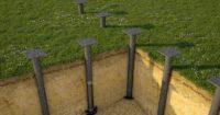 1696 Винтовой фундамент своими руками