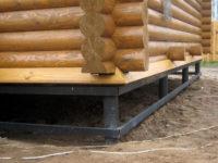 1721 Как укрепить фундамент деревянного дома — технология выполнения работ