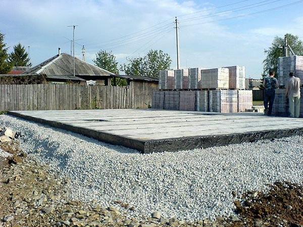 Строительство фундамента на болотистой почве