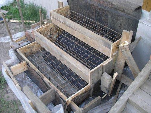Крыльцо из бетона своими руками — инструкция постройки и технология