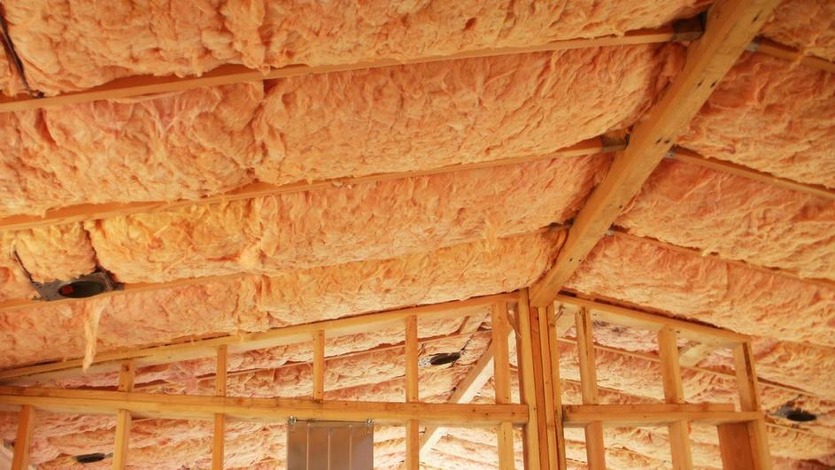 Утепление крыши бани