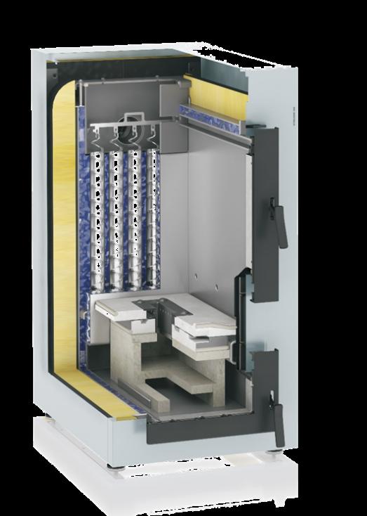 Viessmann представил новый автоматизированный дровяной котел