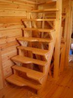 4471 Делаем лестницу «Гусиный шаг» самостоятельно — пошаговая технология