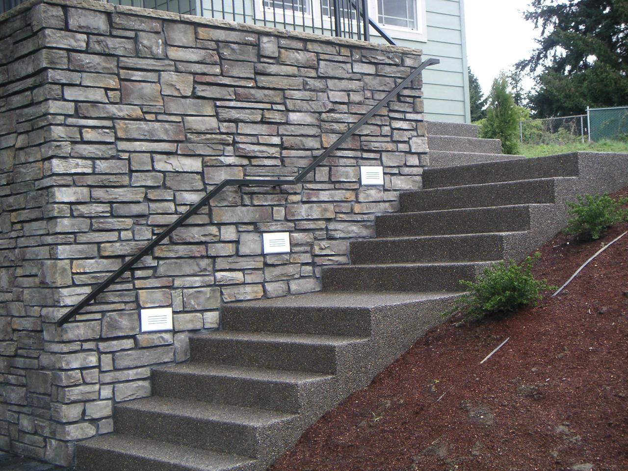 Бетонная лестница своими руками — инструкция, технология постройки