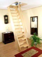 5687 Чердачная лестница своими руками