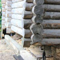 7315 Замена нижних венцов деревянного дома