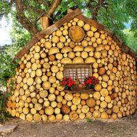 7325 Глиночурка — технология строительства дома из дров и глины