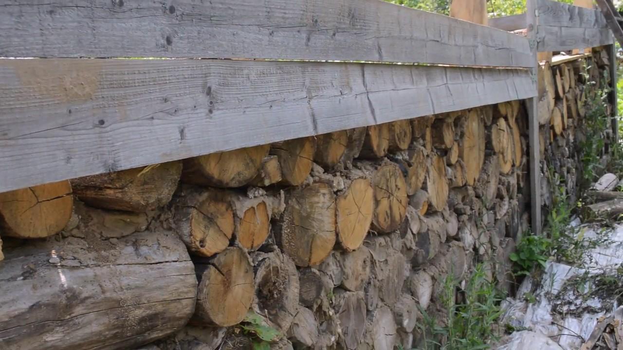 Глиночурка — технология строительства дома из дров и глины