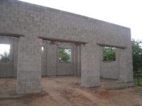 8148 Кладка стен из керамзитобетонных блоков