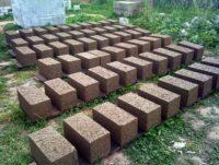 9551 Арболитовые (опилкобетонные) блоки своими руками
