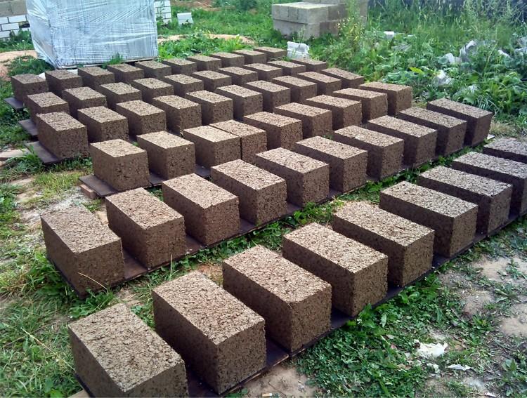 производство арболитовых блоков в домашних условиях