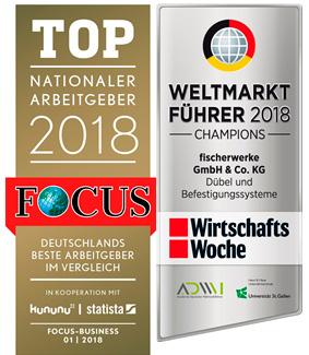 8164 Компания fischer признана лидером мирового рынка и самым известным семейным бизнесом в Германии 2018 года
