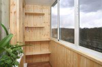 17473 Внутренняя отделка балкона своими руками