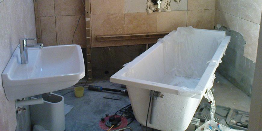 Алгоритм работ по демонтажу ванны: шаг за шагом