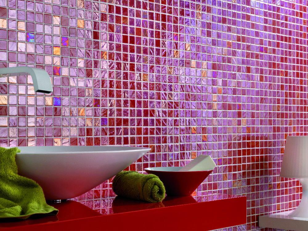 Укладка мозаичной плитки на сетке — технология