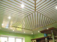 19076 Инструкция как сделать потолок из алюминиевых панелей