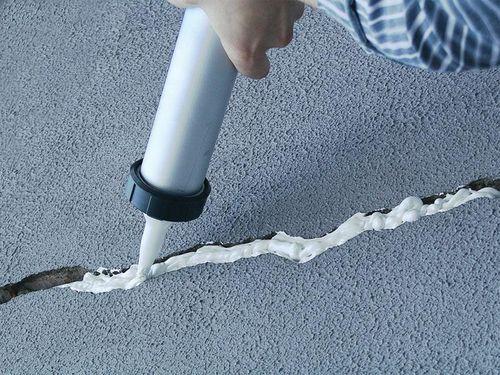 Технология как заделать швы между плитами перекрытия
