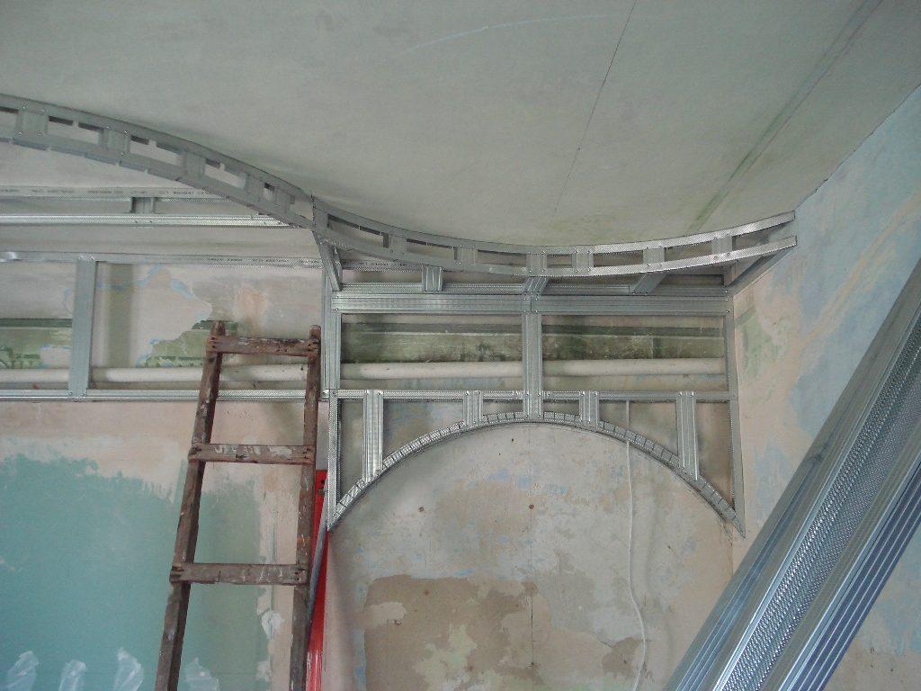 Делаем двухуровневый потолок из гипсокартона своими руками
