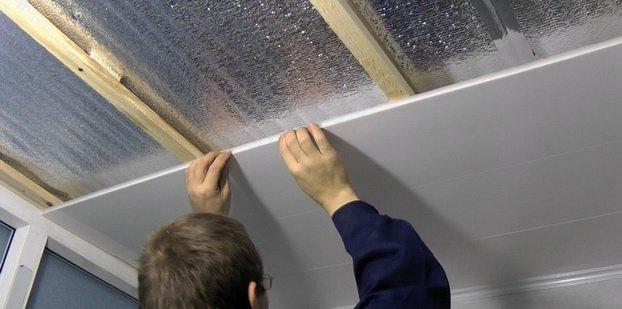 Установка панелей из пластика или ПВХ — пошаговая методика